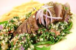 Middle Eastern Lamb Pita Bread Royalty Free Stock Photo
