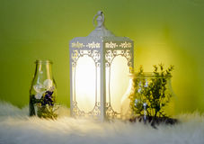Middle eastern lamp Stock Photography