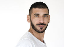 Free Middle Eastern Man Casual Studio Portrait Stock Images - 85116694