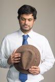 Middle Eastern metrosexual man in studio Stock Photos