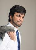 Middle Eastern metrosexual man in studio Royalty Free Stock Photo