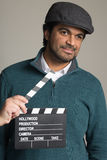 Middle Eastern metrosexual man in studio Stock Image