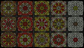 Middle Eastern ornaments royalty free stock images