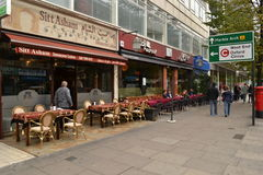 Middle Eastern restaurants Edgware Road London Royalty Free Stock Image
