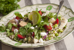 Middle Eastern salad Stock Images