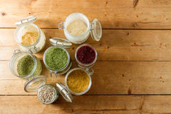 Middle Eastern spices Royalty Free Stock Photography