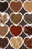 Middle Eastern Spices Stock Photo