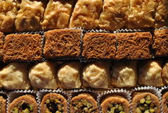 Middle Eastern Sweets Stock Images