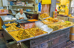 The Middle Eastern sweets Stock Photography