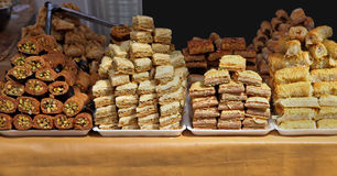 Middle Eastern sweets Stock Image