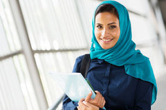 Middle eastern university student Stock Photo