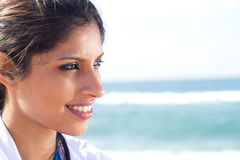 Middle eastern woman Stock Images