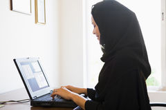 A Middle Eastern woman Stock Image