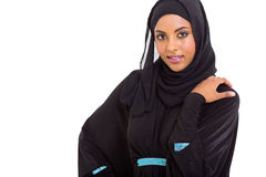 Middle eastern woman. Beautiful young middle eastern woman on white background Stock Image