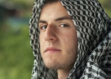 Middle Eastern young man Royalty Free Stock Photo