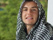 Middle Eastern young man Stock Photography