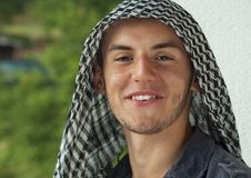 Middle Eastern young man Stock Images