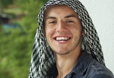 Middle Eastern young man Royalty Free Stock Image