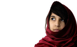 Middle Eatern Girl. A beautiful, young Indian girl Royalty Free Stock Images
