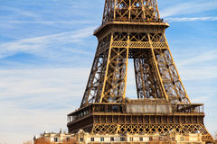 Middle Eiffel Royalty Free Stock Photography