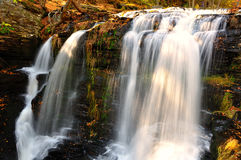 Middle fall at Delaware Water Gap Stock Images