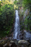 Middle Fall of the Ng Tung Chai Waterfalls in Hong Kong Stock Photography
