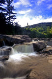 Middle Falls Royalty Free Stock Images