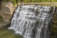 Middle Falls at Letchworth Stock Photography