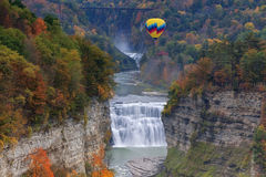 The Middle Falls At Letchworth State Park Royalty Free Stock Photo