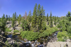Middle Fork San Joaquin River Royalty Free Stock Photography