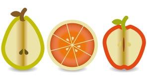 Middle Fruits royalty free illustration