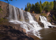 Middle Gooseberry Falls Stock Photo