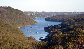 Middle Harbour from Seaforth Stock Image