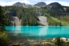Middle Joffre lake Royalty Free Stock Photography