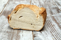 Middle loaf of bread Royalty Free Stock Photography