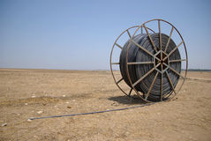 In the Middle of Nowhere. Irrigation is coming to the Desert Royalty Free Stock Images
