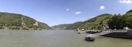Middle rhine valley Royalty Free Stock Image