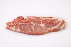 Middle rib chop of pork Royalty Free Stock Photography