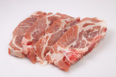 Middle rib chops of pork Royalty Free Stock Photography