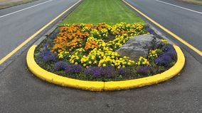 Landscaping road Stock Photography