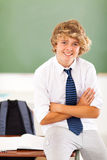 Middle school student Royalty Free Stock Photography