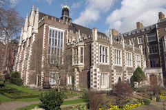 Middle Temple Hall, Inns of Court. London stock photo