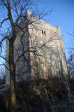 Middle Wartenberg Castle Ruin. The Wartenberg castle ruin is located on a hill above the village of Muttenz. It is one of three castle ruins located on this Stock Photography