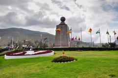 The middle of the world or Latitude Zero, Ecuador Royalty Free Stock Image