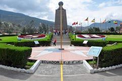 The middle of the world or Latitude Zero, Ecuador Royalty Free Stock Photos