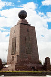 Middle of the world,  Mitad del Mundo, Equator, south america Royalty Free Stock Photo