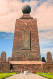 Middle Of The World, Mitad Del Mundo, South America Royalty Free Stock Images