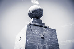 Middle of the World monument in Ecuador Royalty Free Stock Photography