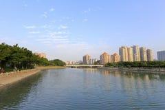 Middle of yundang lake, adobe rgb Stock Photos