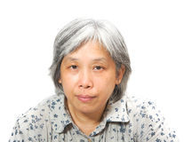 Middleage chinese woman Stock Photos